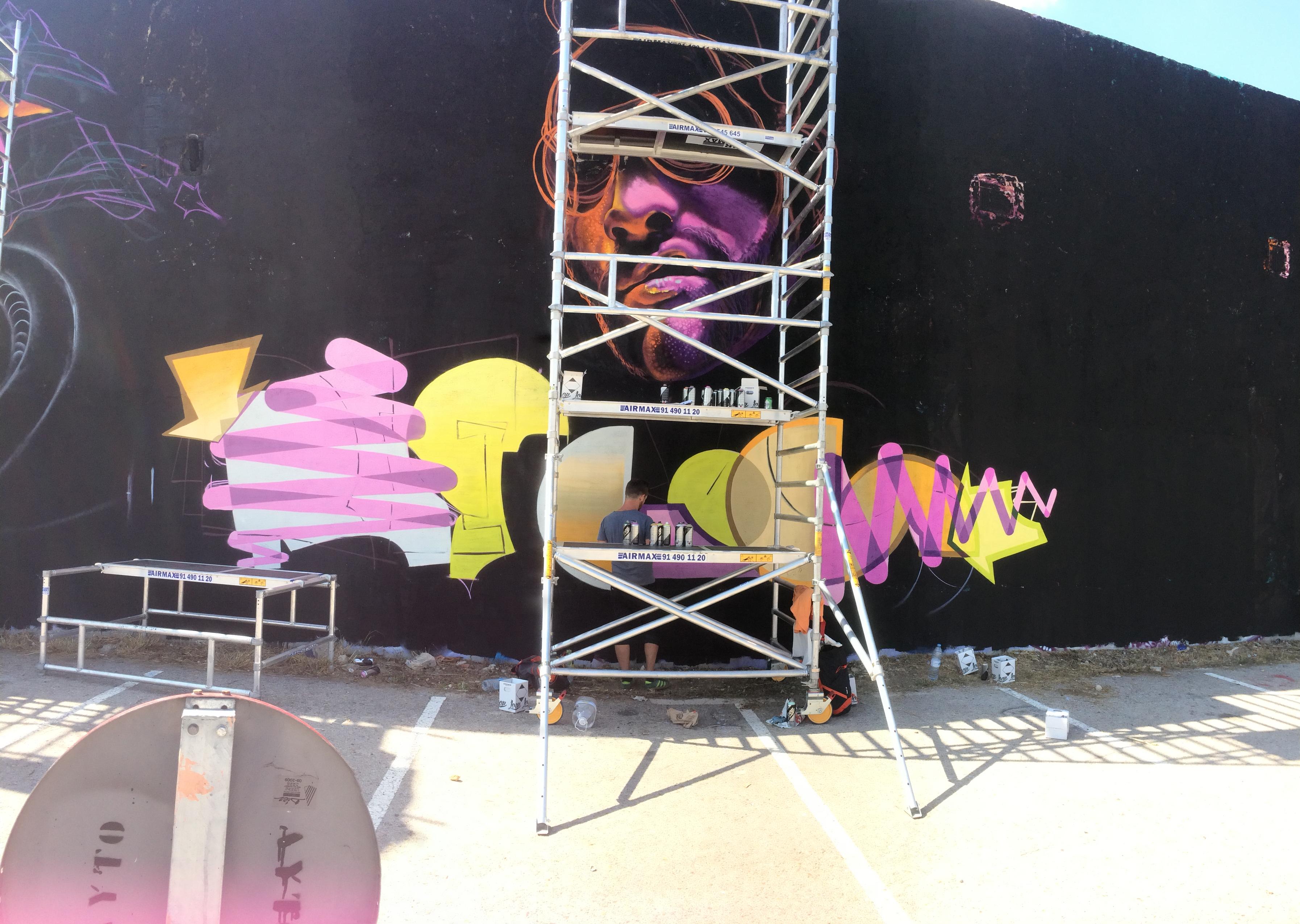 Jahone Graffiti street art