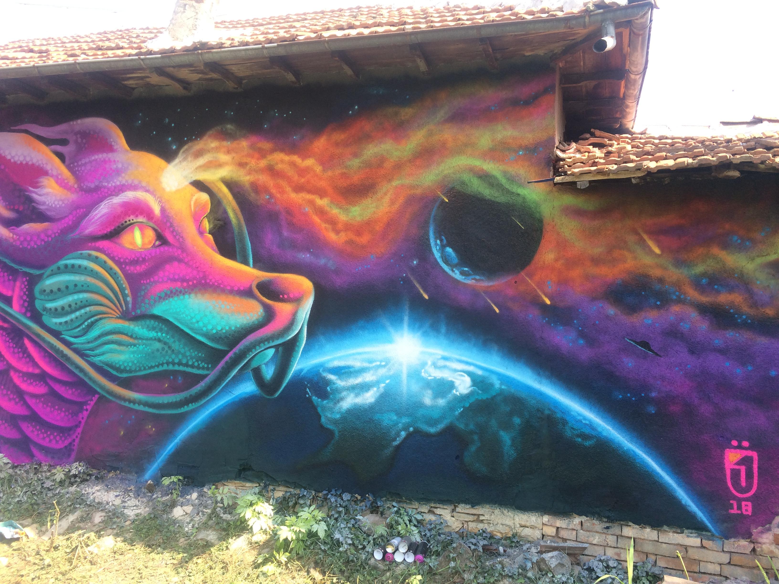 Jahone mural