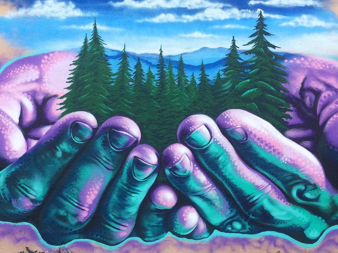 Jahone mural street art graffiti