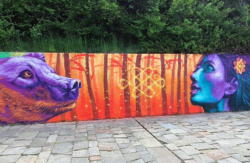 Jahone streetart mural